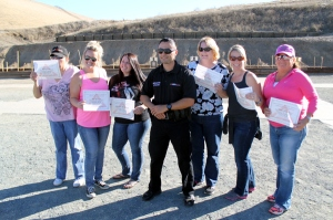 gun range course ladies