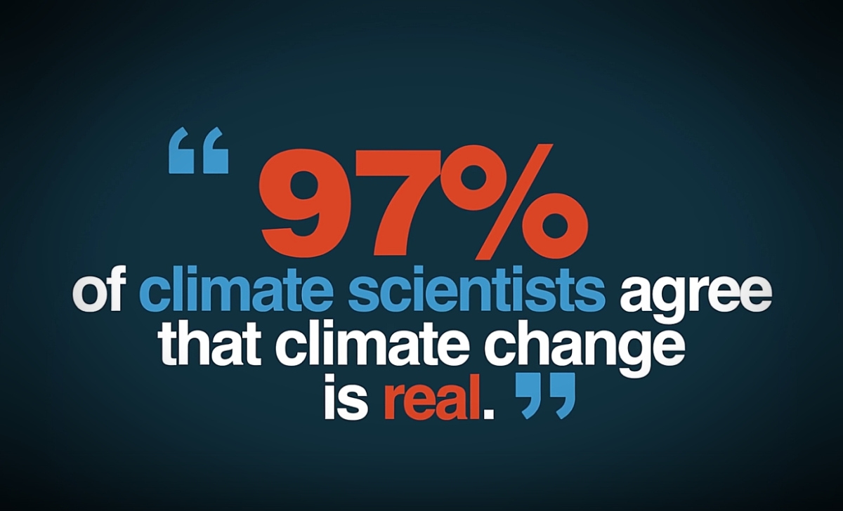 Do 97% of Climate Scientists REALLY Agree Climate Change is Real?